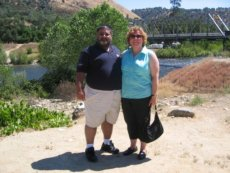 Adoptive Family Photo: At the Site of the California Gold Rush, click to view bigger version