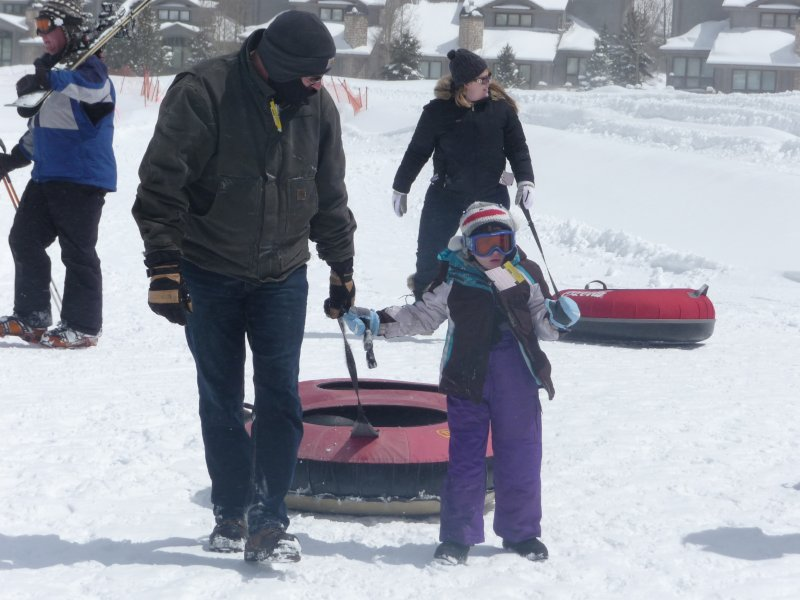Tubing with Daddy