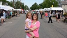 Adoptive Family Photo: Arts Fest, click to view bigger version