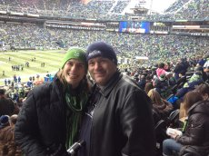 Adoptive Family Photo: Go Seahawks!, click to view bigger version