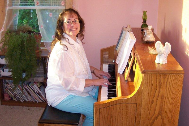 Vera Playing Piano