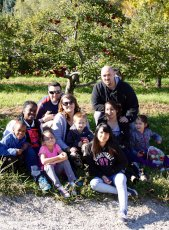Adoptive Family Photo: Apple Picking, click to view bigger version
