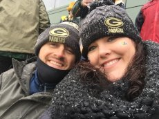Adoptive Family Photo: Go Packers!, click to view bigger version
