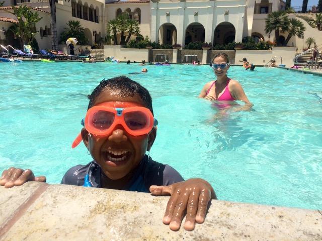 Swim Practice With Mama