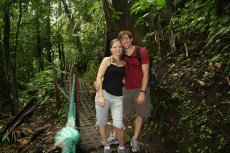 Adoptive Family Photo: Costa Rican Rainforest Hike, click to view bigger version