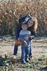 Adoptive Family Photo: A Day at the Pumpkin Patch, click to view bigger version