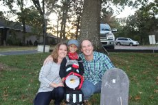 Adoptive Family Photo: All Smiles on Halloween, click to view bigger version