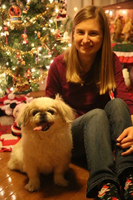Andrea and Our Dog, Winny