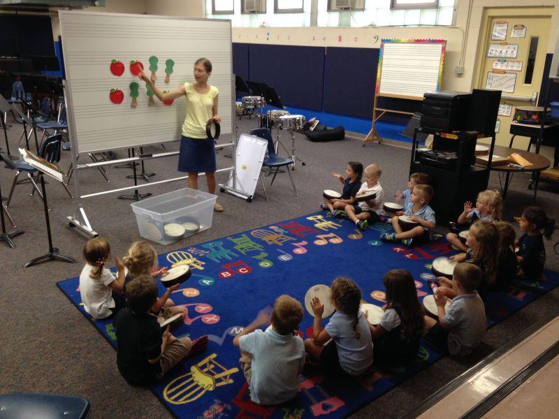 Andrea Teaching