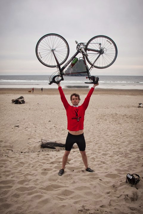 Joe Biked 100 Miles to the Oregon Coast