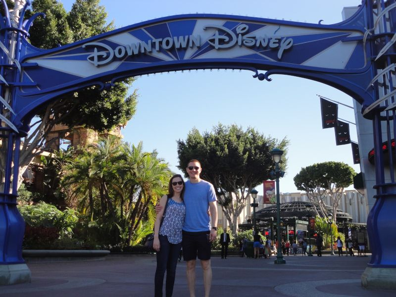 Downtown Disney on a Sunny Afternoon
