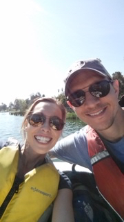 A Romantic Paddle Boat Outing on Valentine's Day