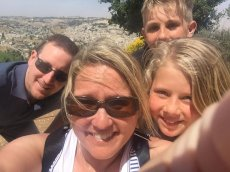 Adoptive Family Photo: Hiking with Our Niece & Nephew, click to view bigger version