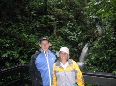 Adoptive Family Photo: Rain Forest Hike in Costa Rica, click to view bigger version