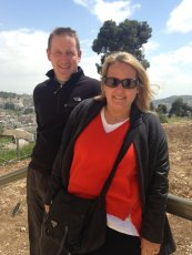 Adoptive Family Photo: Hiking in Israel, click to view bigger version