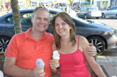 Adoptive Family Photo: Ice Cream Date, click to view bigger version
