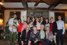 Adoptive Family Photo: Christmas With Family, click to view bigger version