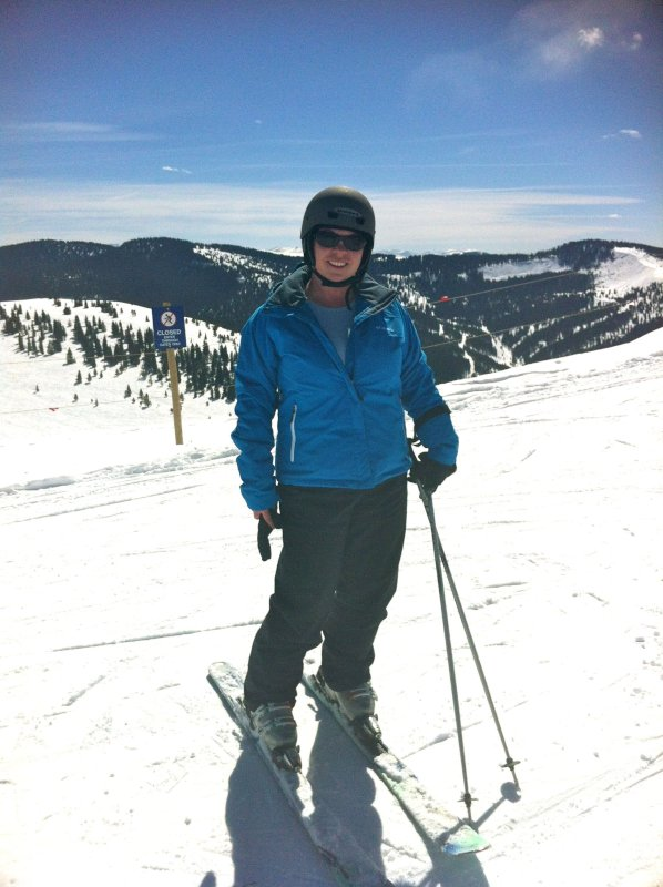 Holly Skiing in Vail