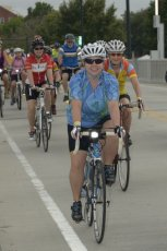 Adoptive Family Photo: Holly Cycling for MS Awareness, click to view bigger version