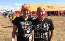 Adoptive Family Photo: Tough Mudder - We Did It! , click to view bigger version