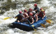 Adoptive Family Photo: Whitewater Rafting, click to view bigger version