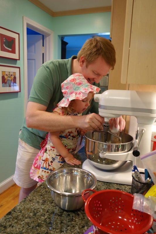 Making Eric's Signature Cookies