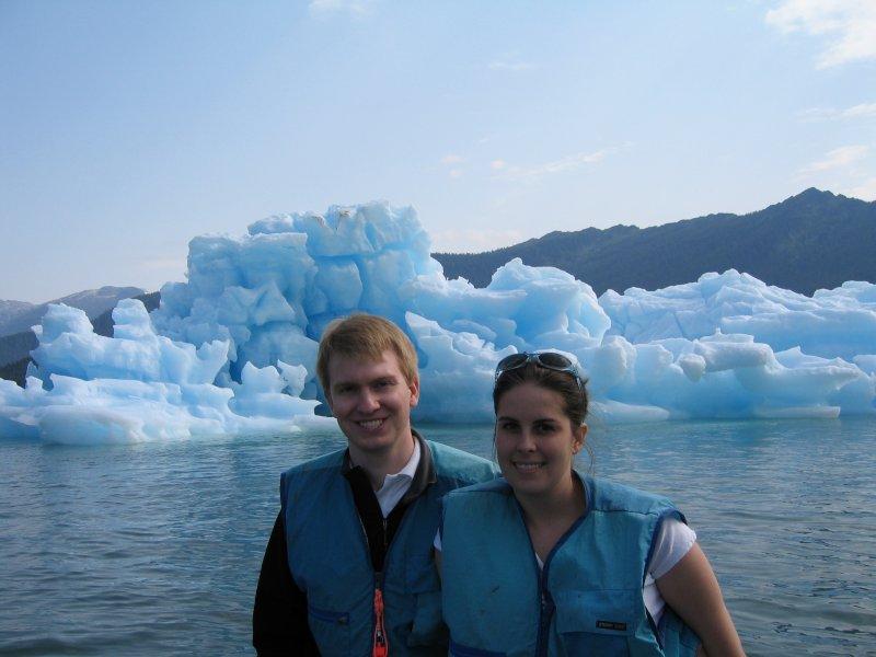 Visiting the Icebergs in Alaska