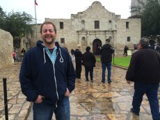 Adoptive Family Photo: James at the Alamo, click to view bigger version