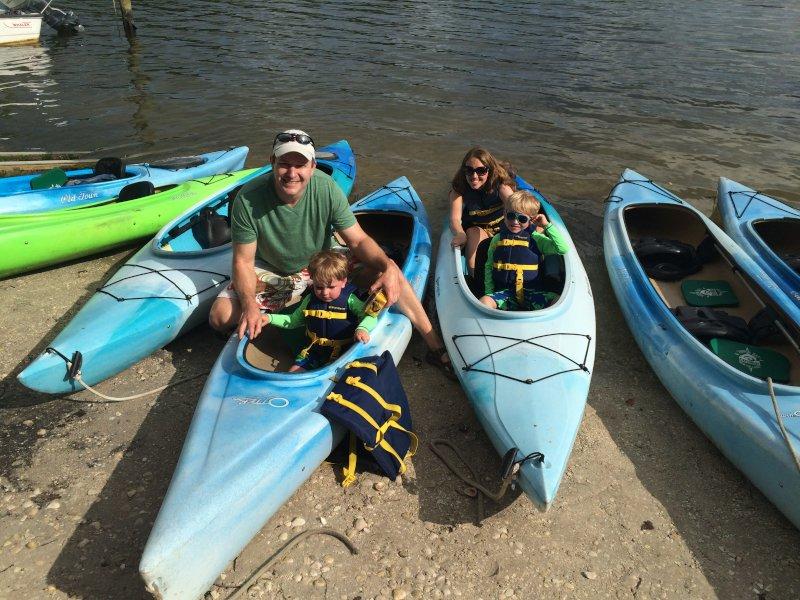 Kayaking Fun in Florida