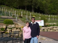 Adoptive Family Photo: Touring a Winery, click to view bigger version