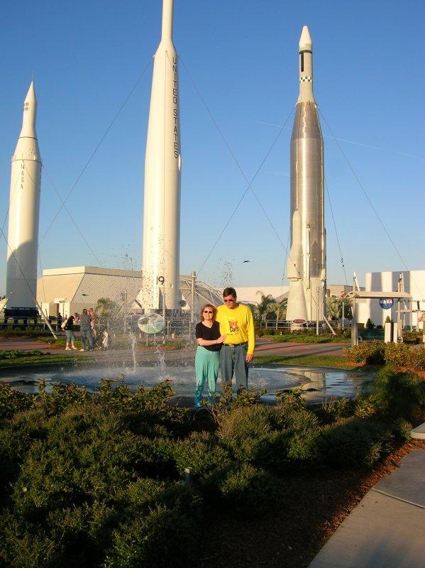 Visiting NASA