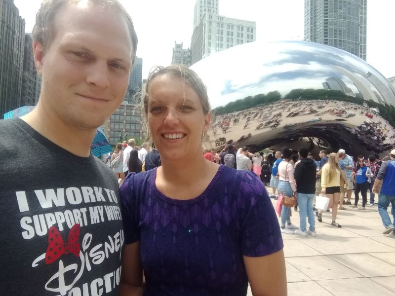 Checking Out the Bean in Chicago