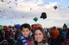 Adoptive Family Photo: With Our Favorite Hot Air Balloons, Star Wars, click to view bigger version