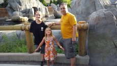 Adoptive Family Photo: Justin & Our Nieces, click to view bigger version