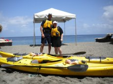 Adoptive Family Photo: Ready for Some Sea Kayaking, click to view bigger version