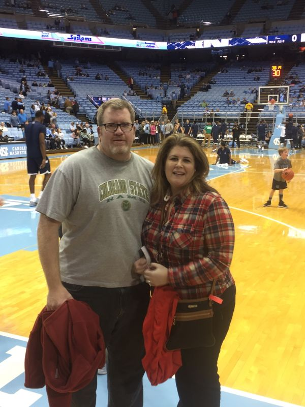 Courtside Carolina Basketball