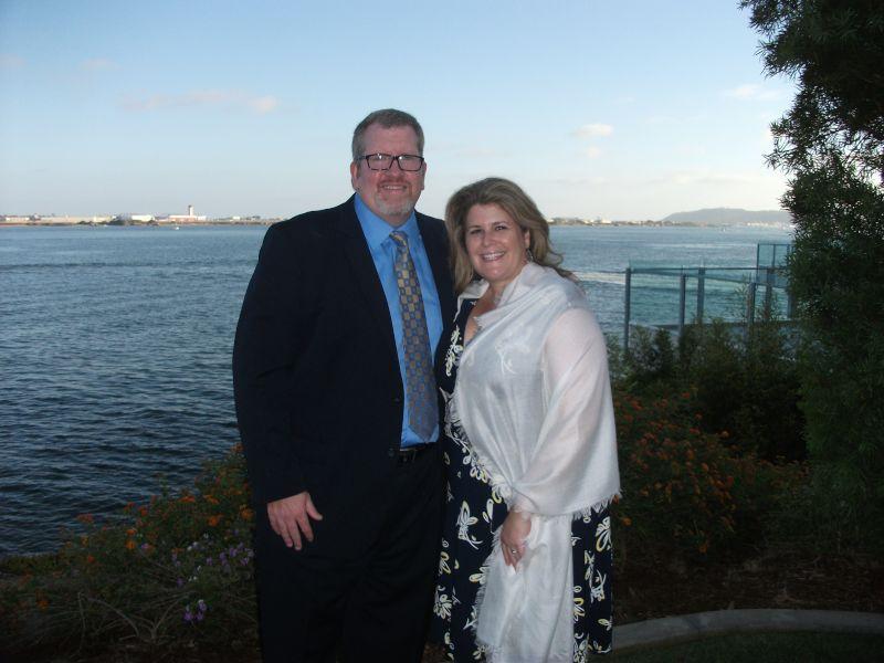 At a Wedding in San Diego