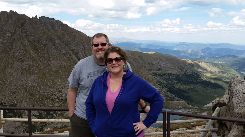 Enjoying the View from Mt. Evans