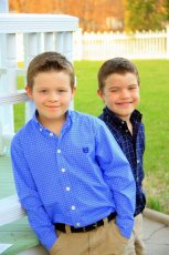 Adoptive Family Photo: Jackson & Carter Can't Wait to Be Big Brothers!, click to view bigger version