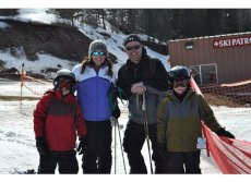Adoptive Family Photo: Family Ski Trip, click to view bigger version