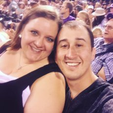 Adoptive Family Photo: Checking Out a Colorado Rockies Game, click to view bigger version