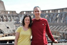 Adoptive Family Photo: The Roman Colosseum, click to view bigger version