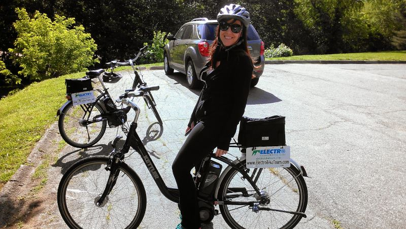 Biking Around a New City