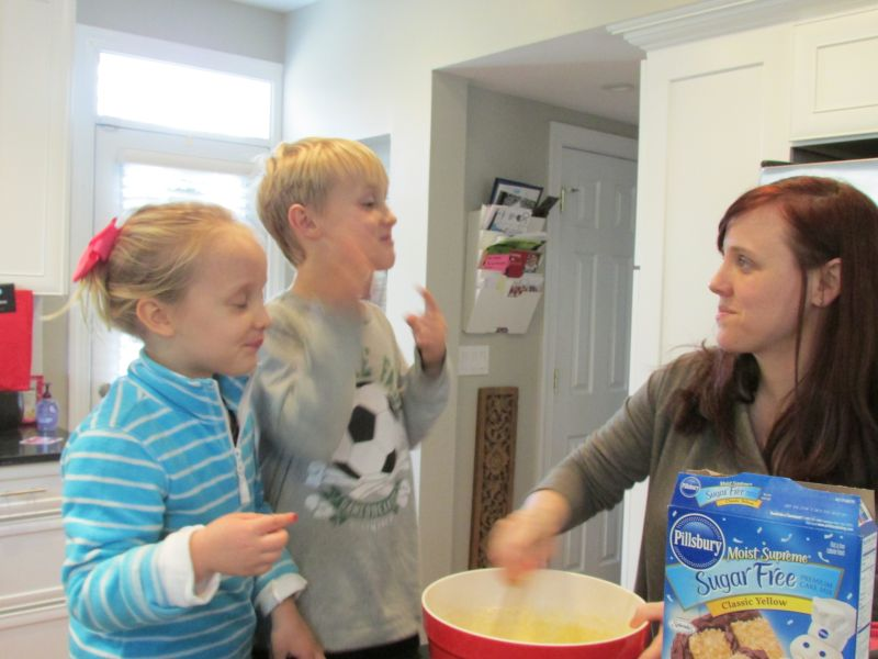 Making Cupcakes with Our Niece and Nephew