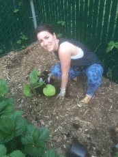 Adoptive Family Photo: Caitlin Loves Gardening, click to view bigger version
