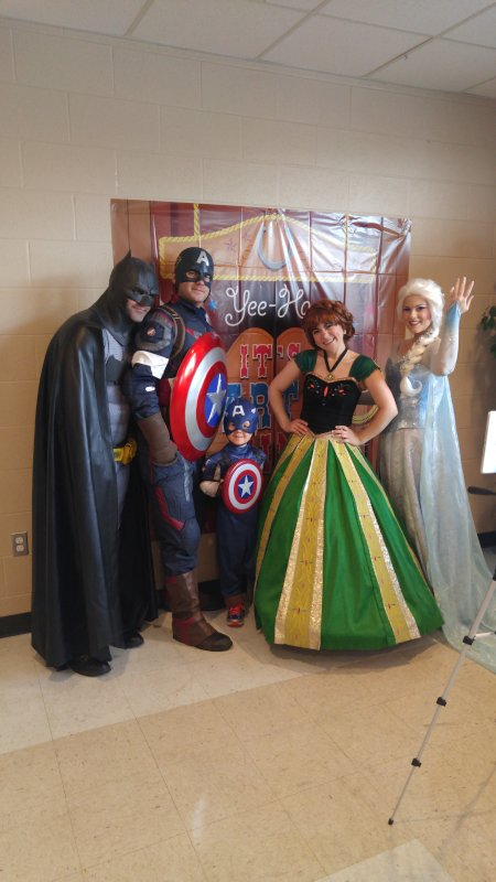 We Love to Take Part in Community Events That Match Our Son's Interests - Superheros for the Win!