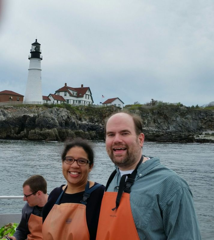 Visiting the Lighthouses in Maine