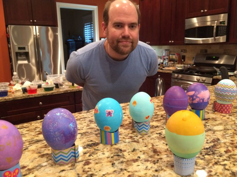 Showing Off Our Easter Egg Creations!