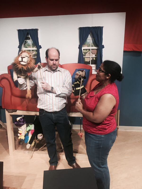 Playing With Puppets at the Puppet Museum