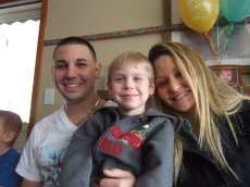 Adoptive Family Photo: Celebrating Our Nephew's Birthday, click to view bigger version